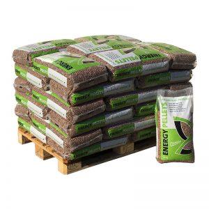 Demi-palette de sacs de pellets Energy Pellet