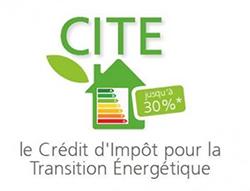 logo CITE, le Crédit d'Impôt pour la Transition Énergétique