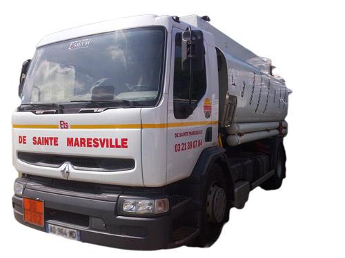 Camion de Ets De Sainte Maresville