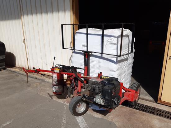 Camion Equipé transpalette pour vos combustibles