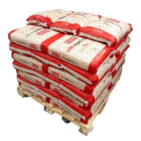 demi palette pellets royal pellets