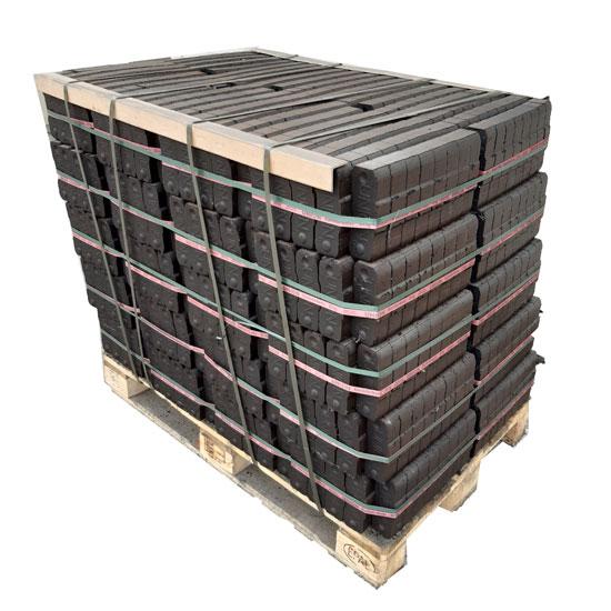 palette briquette lignite