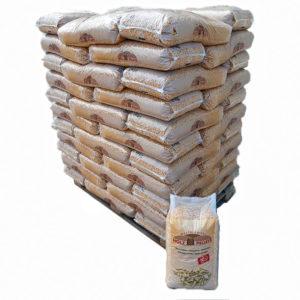 palette Holz pellets