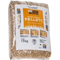 magic wood pellets