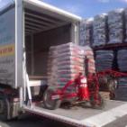 la livraison du pellets et assuré par nos soins à saint-omer et dans un rayon de 40km