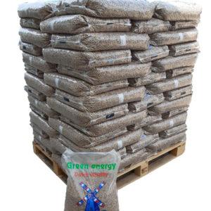 Palette green energy pellets